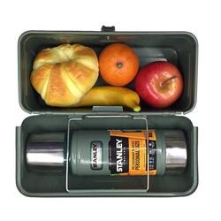 Stanley Classic LunchBox 9,4Lt Metal Çanta Yeşil - Thumbnail