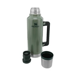 Stanley Klasik Termos 1,9Lt Legendary Bottle Hammertone Green - Thumbnail