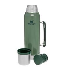 STANLEY - Stanley Klasik Termos 1Lt Legendary Bottle Hammertone Green