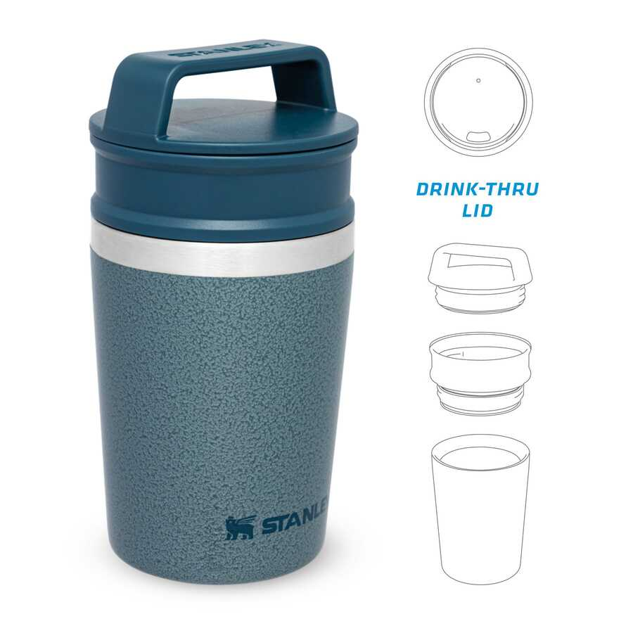 Stanley The Shortstack Travel Mug .23L Hammertone Ice