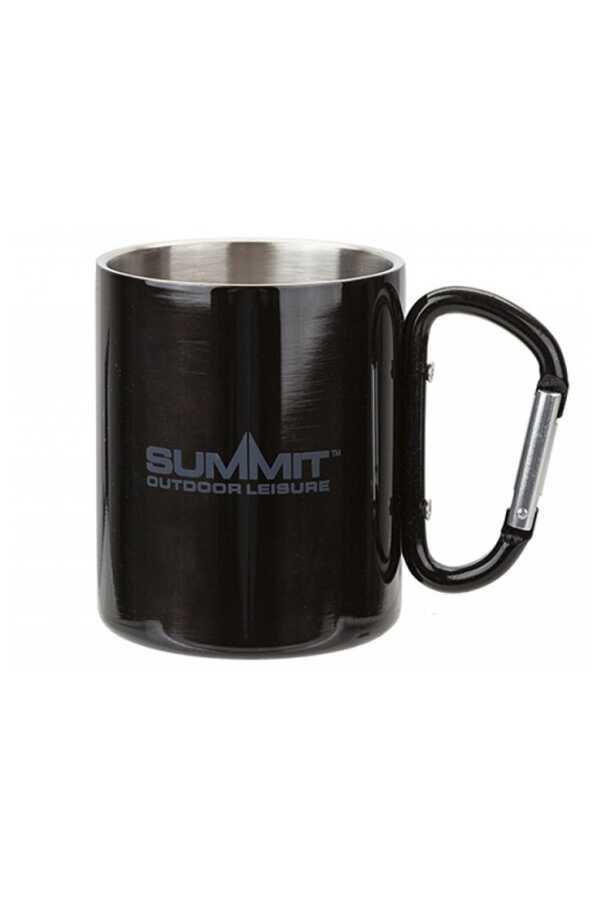 Summit Paslanmaz Çelik Kamp Kupası 300ml Çift Cidarlı Siyah