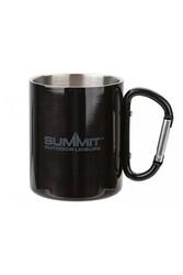 Summit - Summit Paslanmaz Çelik Kamp Kupası 300ml Çift Cidarlı Siyah