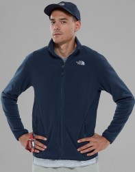 THE NORTH FACE - The North Face Glacier Full Zip Erkek Polar Mavi