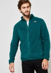 THE NORTH FACE - The North Face Glacier Full Zip Erkek Polar Yeşil
