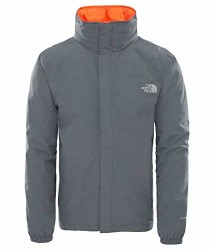 The North Face Resolve İnsulated Erkek Mont Gri - Thumbnail