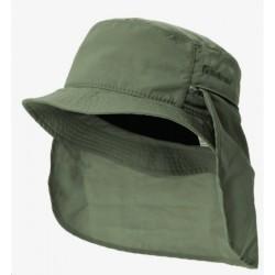 TREKMATES - Trekmates Mojave Katlanır Yazlık Terletmez Şapka Yeşil