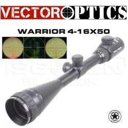 VECTOR OPTICS - Vector Optics Vo Warrior 4-16X50 Aoe Tüfek Dürbünü Scol-01