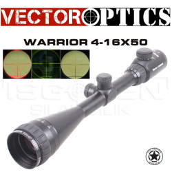 VECTOR OPTICS - Vector Optics Vo Warrior 4-16X50 Aoe Tüfek Dürbünü Scol-01