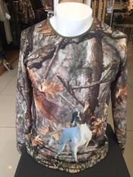 YERLİ ÜRETİM - Yiğit Siyah Pointer Uzun Kollu T-Shirt