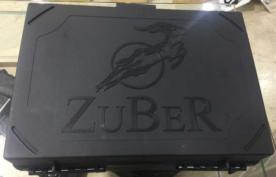 Zuber Fişek Çantası Plastik Kutu Şeklinde 250Ad Kapasiteli