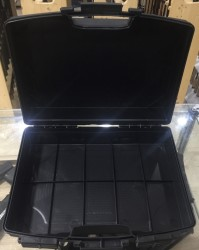 Zuber Fişek Çantası Plastik Kutu Şeklinde 250Ad Kapasiteli - Thumbnail
